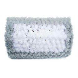 Brosse courbée en coton 25 ou 40 cm avec passage d'eau