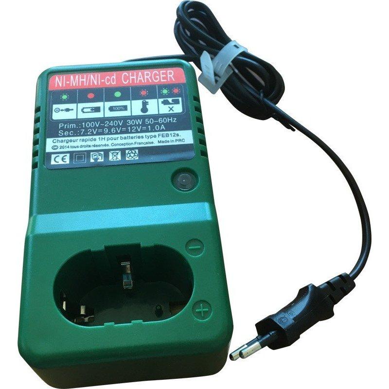Chargeur pour batteries Ni-Mh du pulvérisateur électrique Ecojet.