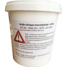 Acide citrique monohydraté...