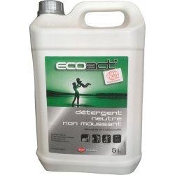 Nettoyant détergent neutre non-moussant - 5 Litres - Ecoact
