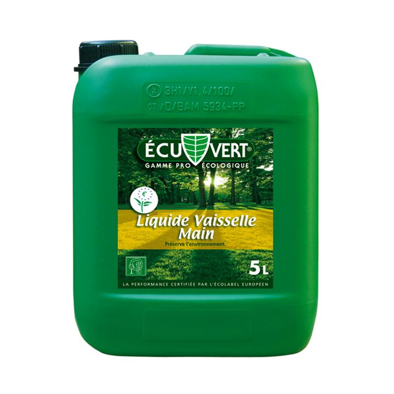 Liquide vaisselle écologique ECU-VERT 5 litres