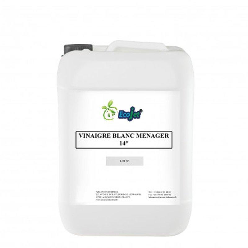 Vinaigre blanc ménager naturel 14° - 5 litres - ECOJET