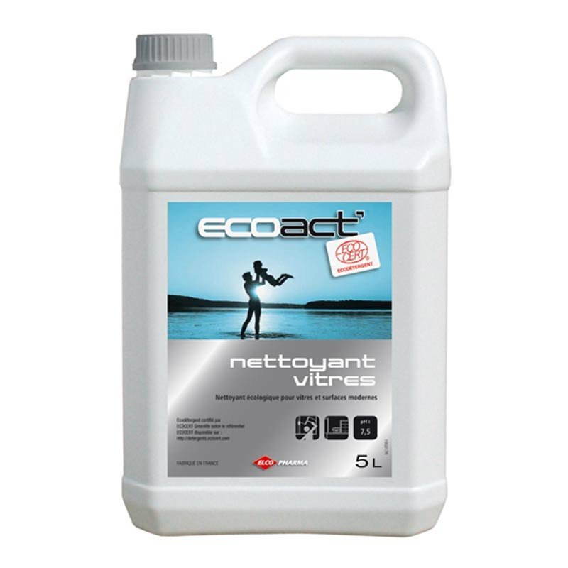 Nettoyant vitres Ecolabel 5 litres - ELCOPHARMA