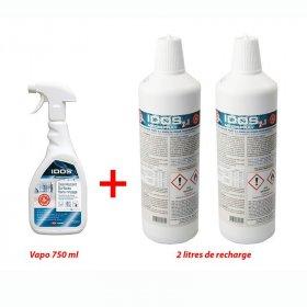 Lot gel hydroalcoolique