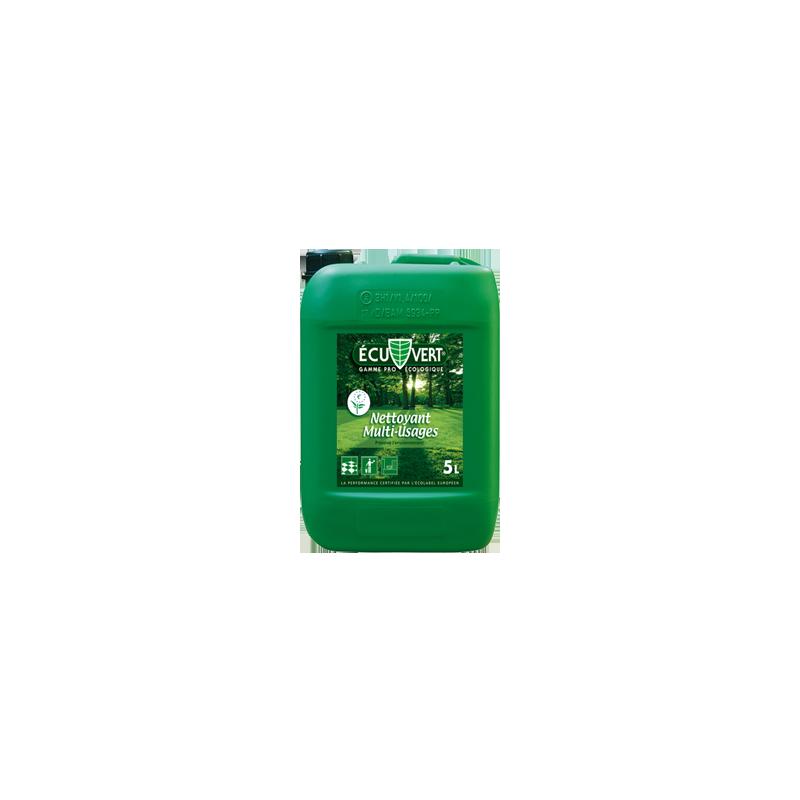 Nettoyant écologique multi-usage professionnel certifié Ecolabel