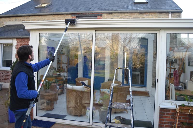 nettoyage veranda